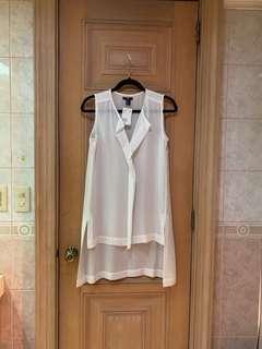 H&M White Tunic Dress