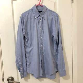 Izzue collection classic blue shirt