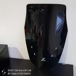 Kawasaki z800 long windshield! Nice black color :) Rm280 wasap.my/60126135416