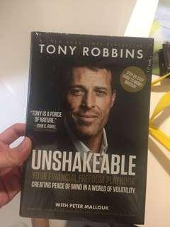 Unshakable Your Financial Freedom Playbook by Tony Robbins
