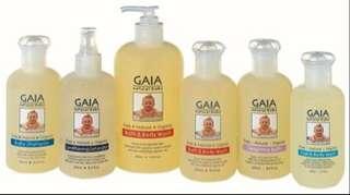 Gaia Natural Baby Washes