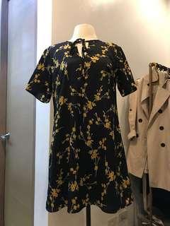 Slip On Floral Dress