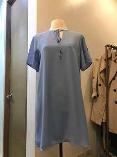 Slip On Baby Blue Dress