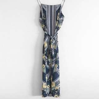 Sheike square neck maxi dress