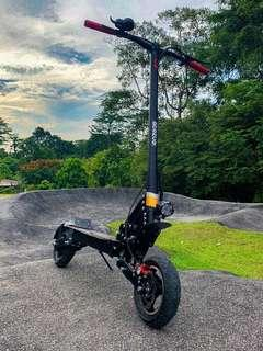 NEW: Preorder BRONCO Xtreme 60V Most Powerful LTA Compliant Electric Scooter
