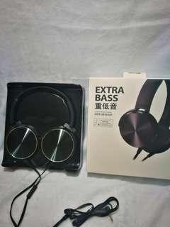 Extra bass headphone #blackfriday100 sony
