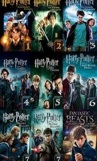 Harry potter series collection (7+1) USB 16Gb #blackfriday100