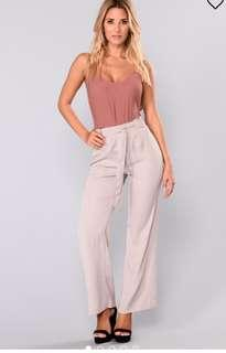 Fashion Nova Wide Leg Pants