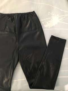 Wilfred Free Leather Leggings
