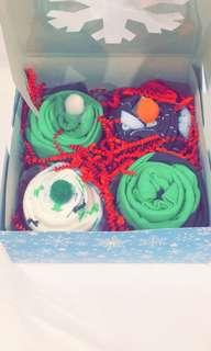 Baby onesie Cupcakes makes a great baby gift for a newborn!!!