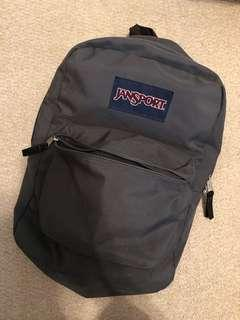 Jansport backpack grey