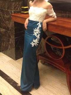 Prom gown #carousellxzoukout