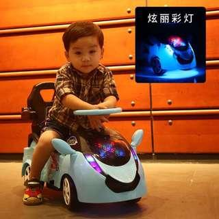 🚚 Electric Car, Toy Car for baby/toddler/kids/children - (Front Lights, forward/reverse driving) - In Stock !