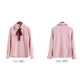 🚚 粉色襯衫