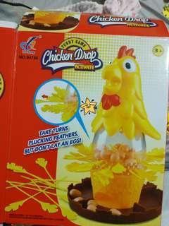 🚚 公雞拔毛桌遊