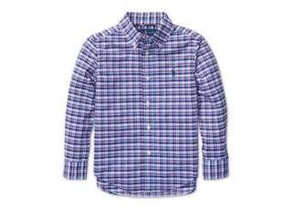 Ralph Lauren Polo Plain Cotton Shirt 大童格仔裇衫 XL size