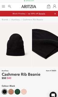 Auxiliary Cashmere Beanie