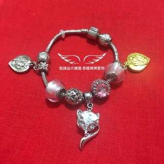 🚚 (現貨)媚魯士 潘朵拉款 狐仙魅力手環