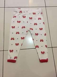 Legging Carter's Red Ribbon