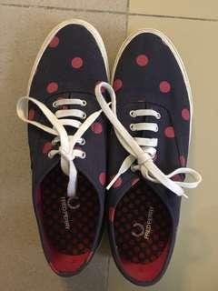ORIGINAL FRED PERRY POLKA DOTTED SHOES