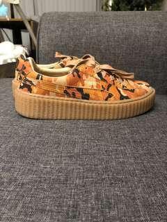 Rihanna Puma Fenty Creeper Camo Size 7