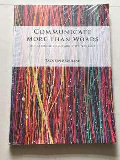 Communicate more than words secondary