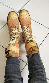 🚚 獨特真皮酷靴