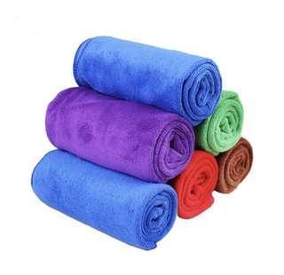 Microfibre Water Absorbent Cloth