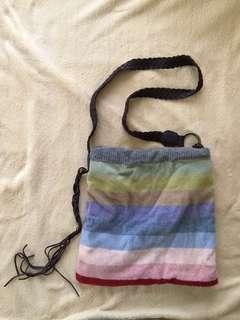Knitted Gap Sling Bag