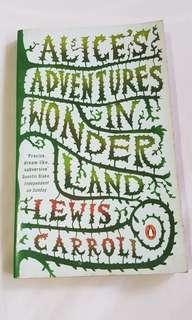 Book - Alice's adventures in Wonderland by Lewis Carroll