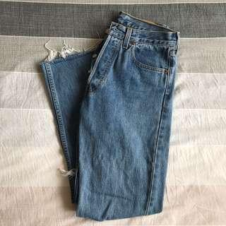Vintage Levis 501 - High waisted