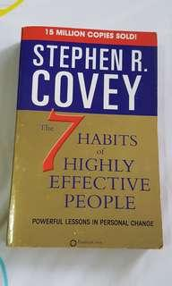 Book - 7 habits of highly effective people