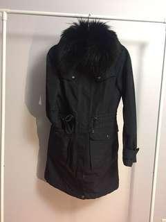 Burberry Rain Trench W Fur