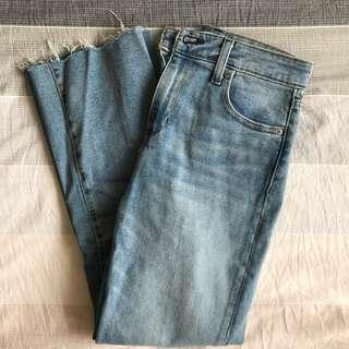 Urban Outfitters BGD high-waisted cropped kick flare jeans (NWOT)