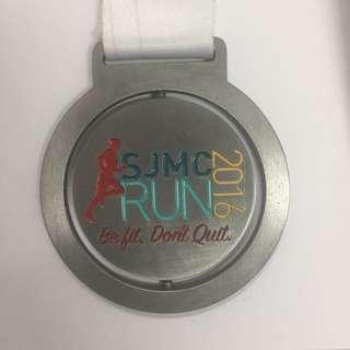 Medal - SJMC Run 2016