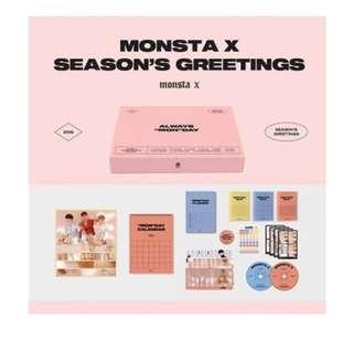 [Preorder] MONSTA X SEASON'S GREETINGS 2019
