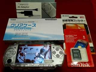 Icy Silver Psp Slim 2000 8gb v6.60 Downloadable