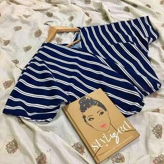 STRIPES BATWING TOP