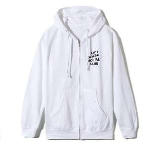 Anti Social Social Club Masochism Zip Up Hoodie Jacket
