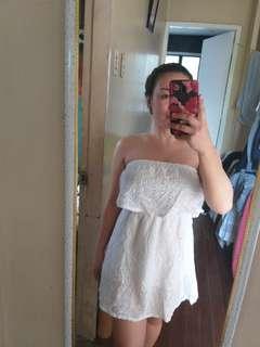 White Dress Perf for Summer