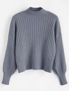 Lavender Mock neck sweater