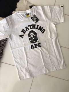 A Bathing Ape BAPE Glow In The Dark Shirt size Small