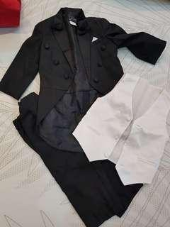 #blackfriday100 Boys Long Tail Formal Suit