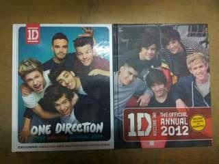 The Official Annual of One Direction for year 2012 and 2014