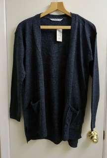 BNWT Blue knit cardigan