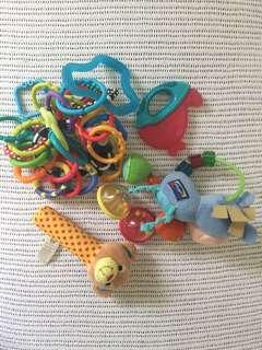 Baby Toys/teether/rings