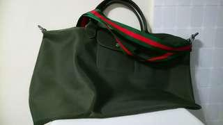 Longchamp tote XL size Made in France