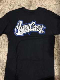 West coast custom tshirt medium ori