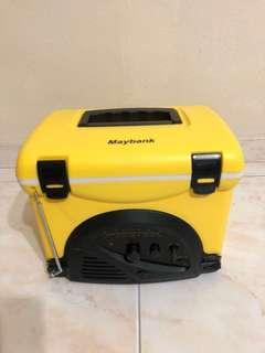 Mini AM/FM Radio Cooler