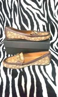 Coach Jacquard Flat Loafers